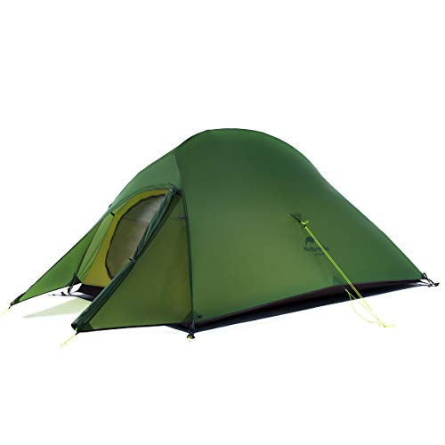 Naturehike Cloud Up 2 Person Backpacking Tent for 4 Season Lightweight Tents for Camping & Hiking