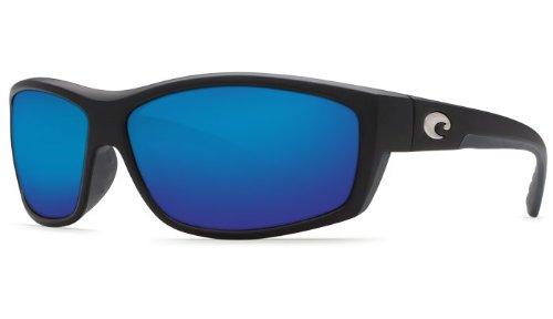 Costa Del Mar Saltbreak 580G Polarized Sunglasses in Black & Blue Mirror - Saltbreak Costa Mar Sunglasses Del Polarized