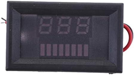 P Prettyia LCD電圧インジケーターデジタル電圧計鉛蓄電池容量36V-#2