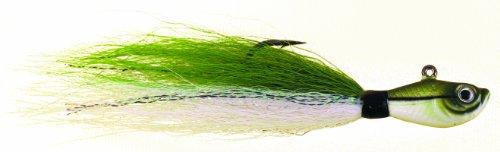 Green Eel (Spro Bucktail Jig-Pack of 1, Sand Eel Green, 3/8-Ounce)