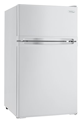 Danby DCR031B1BSLDD 3.1 cu. ft. 2 Door Compact Refrigerator, White (Best Compact Fridge Reviews)