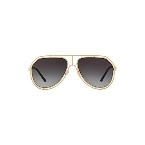 Dolce & Gabbana Men's DG4341 Sunglasses, Black/Grey, One Size