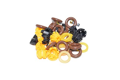 The Injector Shop 4-103 Fuel Injector Rebuild Seal Kit for BMW 6 Cylinder ()