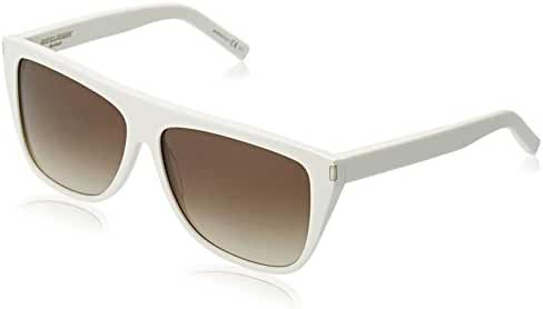 Saint Laurent Women's Designer Sunglasses, Ivory