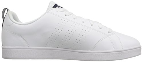 Adidas Neo Mens Advantage Clean Vs Lifestyle Tennisschoen Wit / Wit / Collegiaal Marine