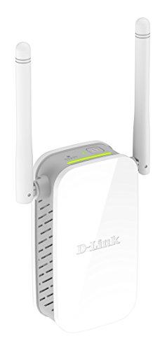 D-Link DAP-1325 - Repetidor Amplificador Extensor de Red WiFi N300 (802.11n hasta 300 Mbps, 2.4 GHz, Puerto Ethernet RJ-45 10/100 Mbps, Modo Punto de Acceso, WPA2, WPS, 2 Antenas externas), Blanco
