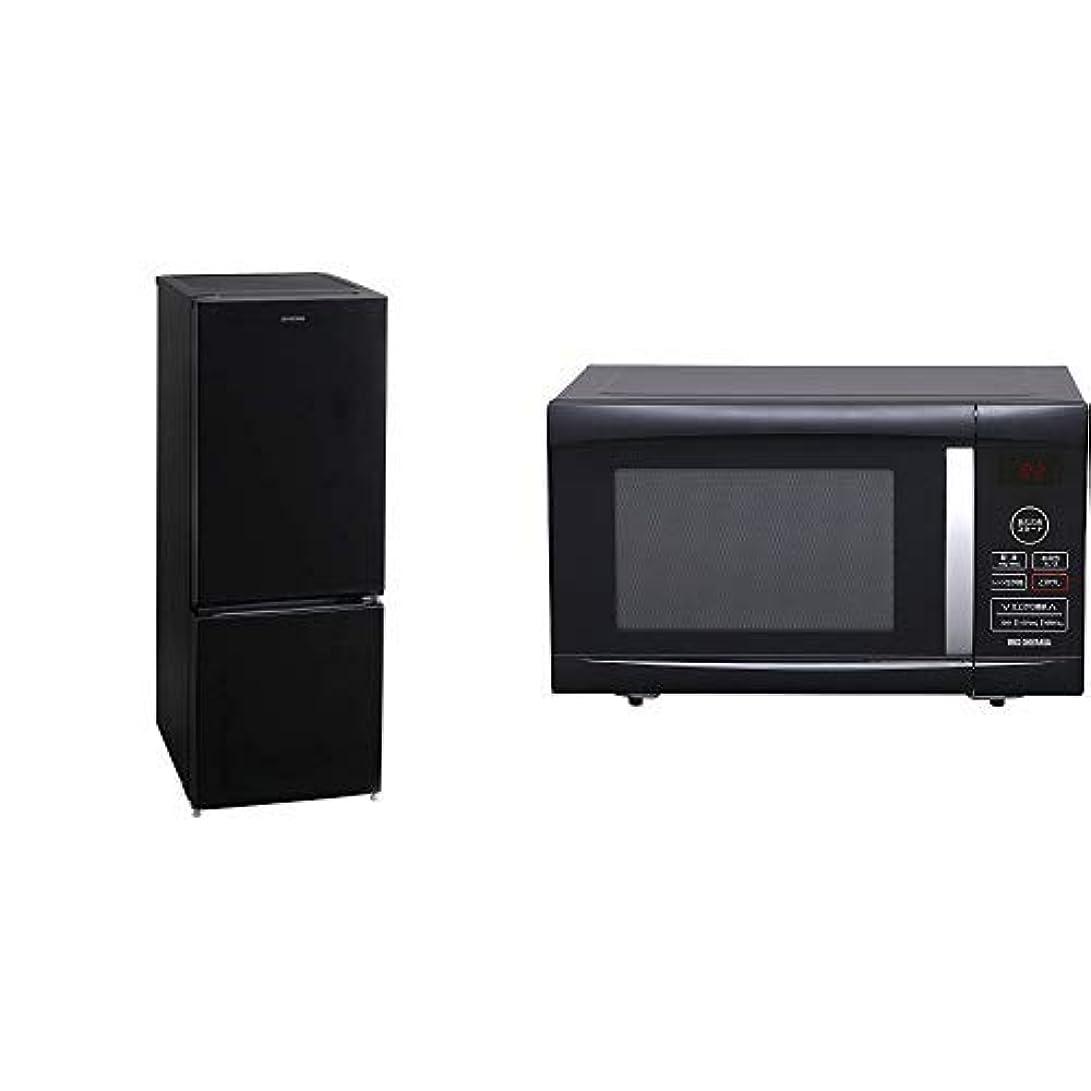 共感する想起ベギンシャープ SHARP 冷蔵庫 (幅48.0cm) 137L プラズマクラスター 両開き 2ドア (つけかえどっちもドア?ガラスドア) ピュアブラック SJ-GD14E-B