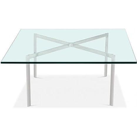 Amazon.com: Barcelona Coffee Table - Square - 12mm Glass ...
