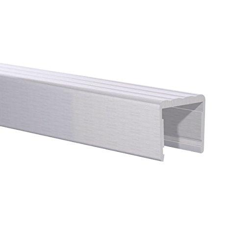 "Orange Aluminum - Shelf Stiffener 3/4"" fit, 8ft Length (Clear Anodize)"
