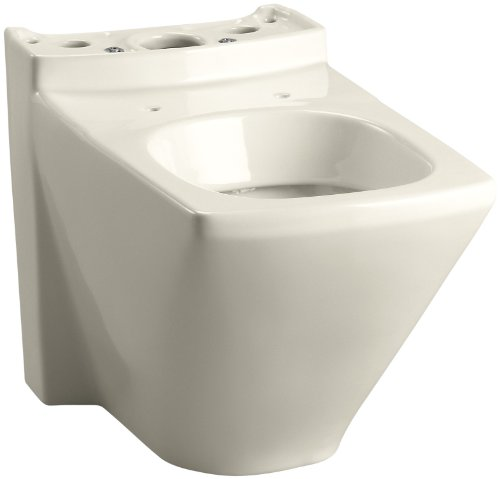 Kohler K-4308-47 Escale Dual Flush Toilet Bowl, Almond