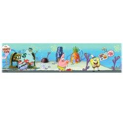 [Self-Adhesive Wall Borders: SpongeBob SquarePants] (Spongebob Wall Border)