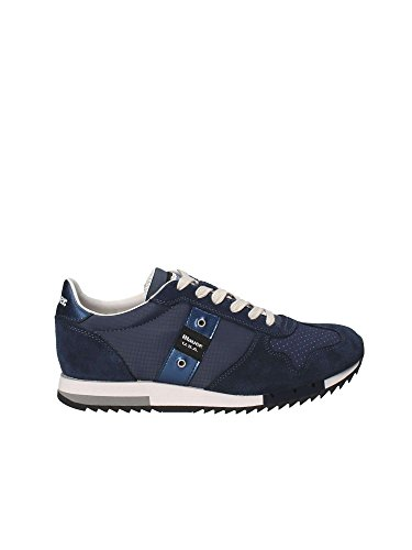 Blauer USA 8SRUNLOW/Top Sneakers Men Darkblue 42