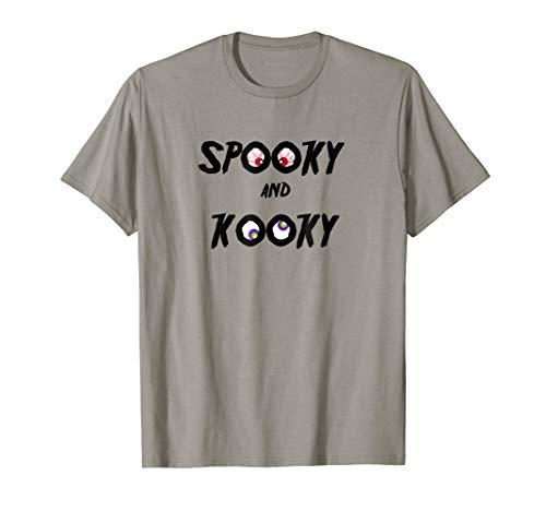 Halloween Spooky And Kooky Scary Eyes T-Shirt ()