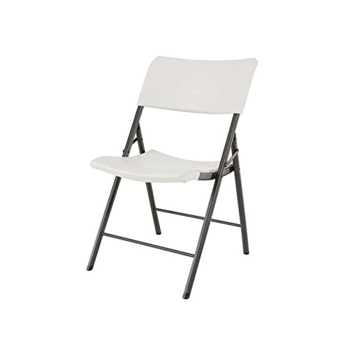 Lifetime Almond, Plastic Folding Chair, 4-Pack