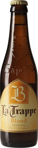 Cerveja La Trappe, Blond, Garrafa, 330ml 1un