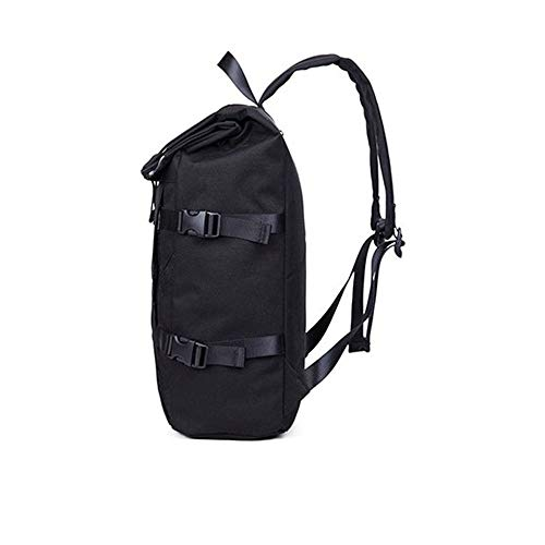 Backpack For Male capacity Cm Bag Large 16 Anti Backpack 49 Usb Reflective Fashion Riding 29 Computer theft Student black Rw7PngqC