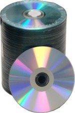 Taiyo Yuden (CDR80SPT600SK) / JVC (JCDR-SPT-SK) CD-R 52X Silver Thermal Everest Hub Printable Blank CD-R Media Discs in 100 Pack Tape Wrap by Taiyo Yuden