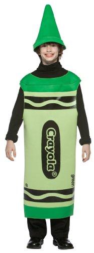 Crayola Costume - Tween (Crayola Tween Green Crayon Costumes)