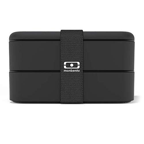 monbento 1200 02 102 MB Original V Black Bento Box