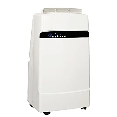 Whynter 12,000 BTU Dual Hose Portable Air Conditioner with Heater, Frost White (ARC-12SDH)