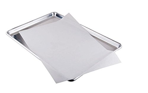 sdber® Parchment Paper for Baking Pan Liners 100 Sheets Silicone Treated (100) (16X12) ()
