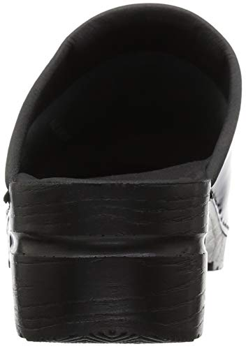 Clog Sonja Patent Women's Black Sanita t4wTU5RqTg