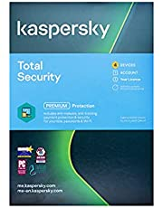 Kaspersky Total Security Multi Device 4 User 2021 - Windows, Mac, Android )- Media & License / 1Y