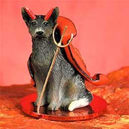 Australian Cattle Dog Little Devil Figurine - (Devil Dog Figurine)