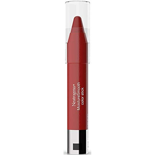 Neutrogena Moisturesmooth Color Stick, 160 Classic Red, 0.011 Ounce