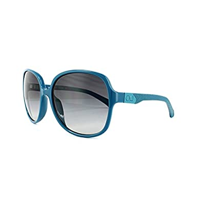 Calvin Klein Jeans Sunglasses CKJ722S 408 Teal Blue Grey Gradient