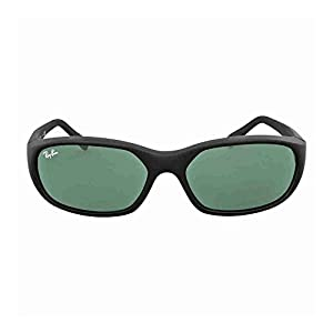 Ray-Ban Sunglasses - RB2016 Daddy-O / Frame: Matte Black Lens: Green