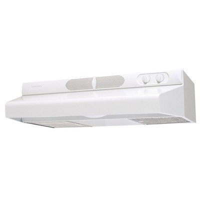 Air King Energy Star Deluxe Quite Under Cabinet Range Hood, 30 Inch