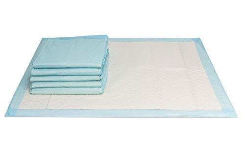 25 Stück | Inkontinenzunterlagen, Krankenunterlagen 60x90cm, handlich unterverpackte Einwegunterlagen, super saugfähiges Flockenmaterial, VIDIMA
