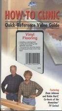 How-to Clinic Quick Reference Video Guide Vinyl Flooring