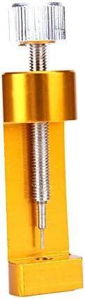 5CD1 時計バンドツール、ブレスレットストラップ手首、腕時計チェーンの修復ツール、新しい時計バンドリンクリムーバー、ブレスレットの調整ツールの調整ウォッチメタル修復ツール、 5CD1 (Color : Brass)