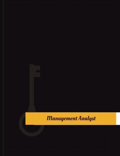 Download Management Analyst Work Log: Work Journal, Work Diary, Log - 131 pages, 8.5 x 11 inches (Key Work Logs/Work Log) pdf epub
