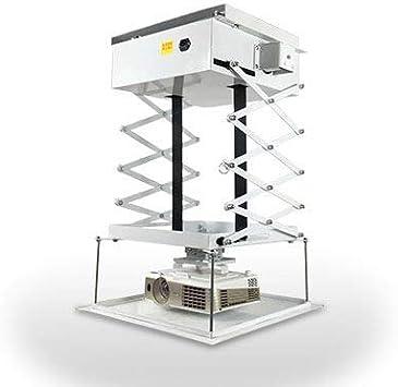CGOLDENWALL Soporte de Techo eléctrico para proyector de elevación ...