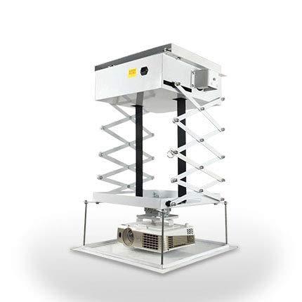 CGOLDENWALL Soporte de Techo eléctrico para proyector de ...