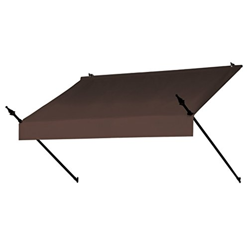 Sunsational Products Replacement Cover for Designer Window Awning - Cocoa - Size: 8' 3020874