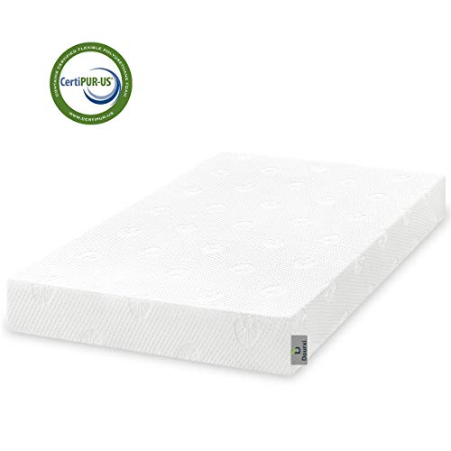 Dourxi Crib and Toddler Mattress - Ideal Breathable & Quiet Foam Mattress Airflow Sleep Surface with Removable Washable Outer Cover, Lightweight Crib Mattress (Best Cooling Mattress Pad 2019)