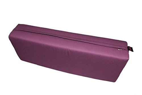 Flex Yoga Rectangular Yoga Bolster (Purple)