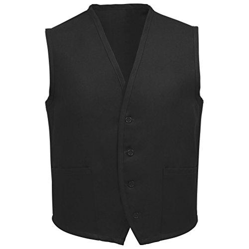Fame Adult's 2 Pocket Vest-Black-Medium