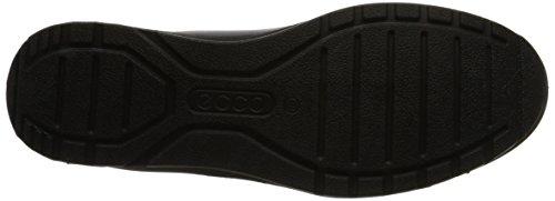 Top BLACK Mobile Low ECCO BLACK Sneakers IIIDamen Schwarz 59266 DARKSHADOWMET nqR7WwHgW