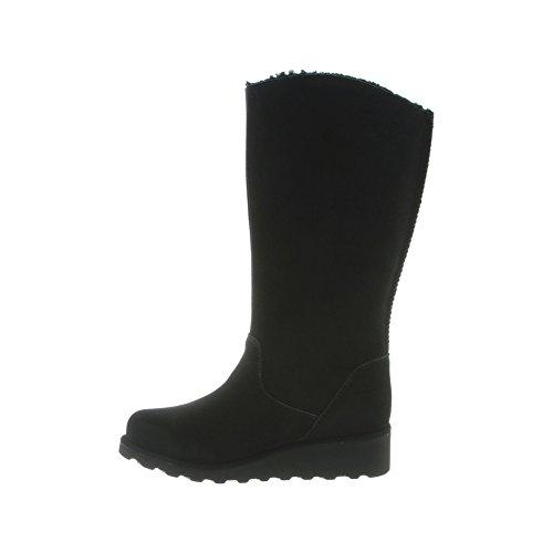 Pictures of BEARPAW Women's Hayden Boots Suede Rubber Wool 3
