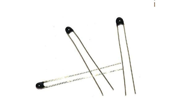 5 Pieces Thermistor 10 kohm 5/% NTC Thermal Resistance mf52