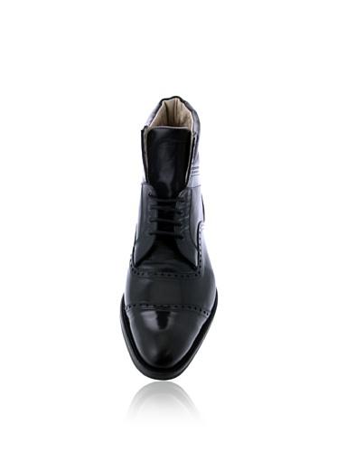 Cremieux Ville De Daniel Schwarz Homme À Pour Lacets Chaussures Noir 4Hawq