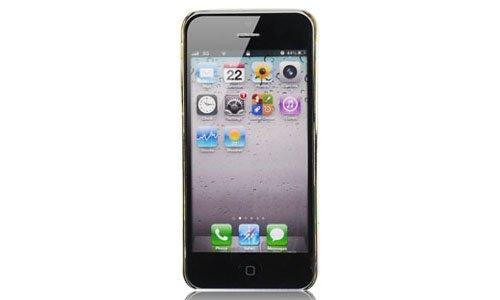 Edle Schutz Hülle für Apple iPhone 5 5G Tasche Back Handy Cover Case Pin #DT