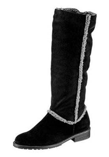 More Negro Náuticos Stiefel Mujer amp; FwqF1B6