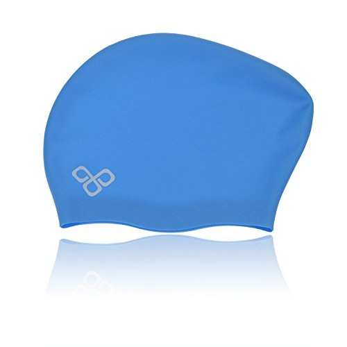 Waterproof Extra Large Swim Caps for Long Hair - Silicone Swimming Cap Dreadlocks Women & Ladies That Keeps Hair Dry - Cap Silicon Swim
