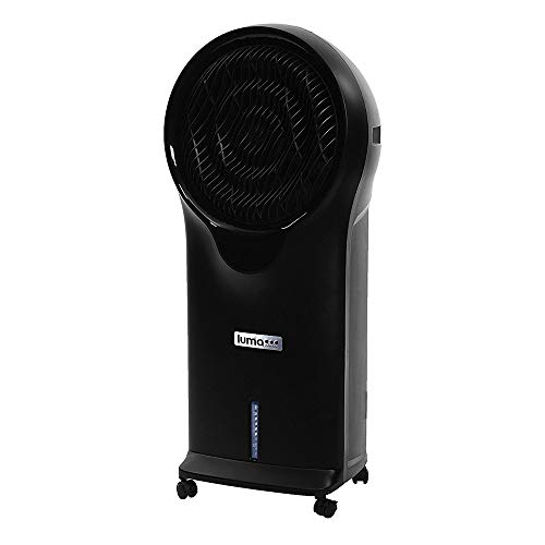 Luma Comfort EC111B Portable Evaporative Cooler, Black